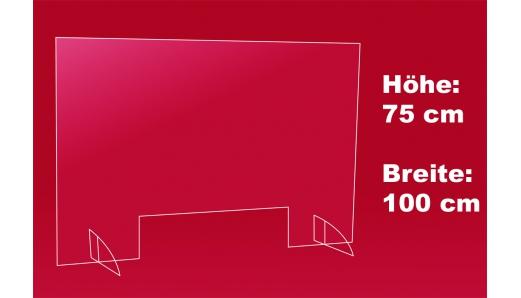 Nies- und Spuckschutz 100 x 75 cm