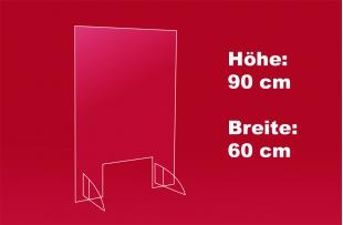 Nies- und Spuckschutz 60 x 90 cm