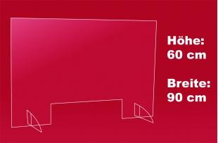 Nies- und Spuckschutz 90 x 60 cm