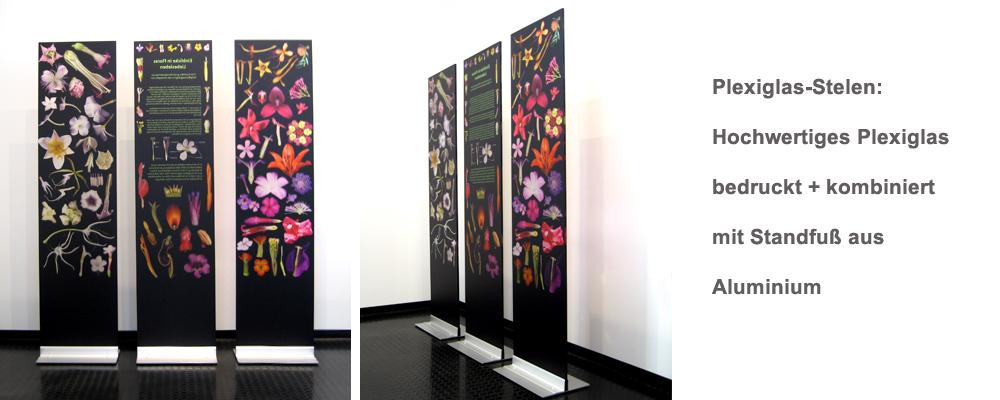acrylglas-stelen