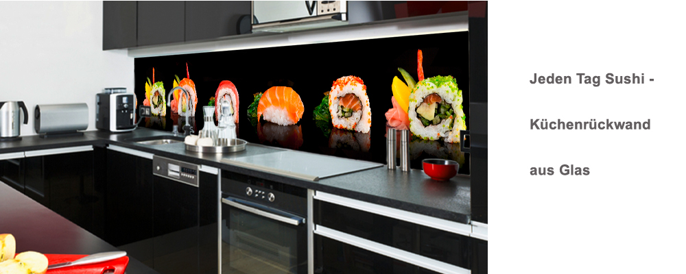kuchenruckwand_sushi